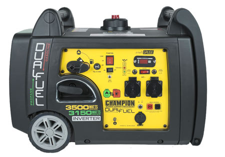 CHAMPION 3400w Inverterelverk Dual Fuel