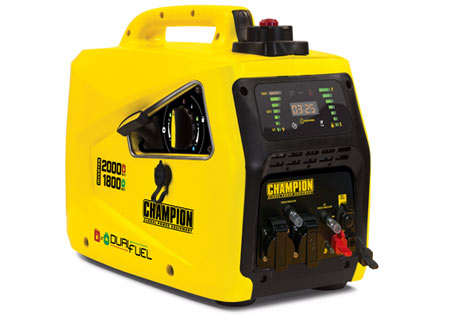 CHAMPION 2000w Inverterelverk, Dual Fuel